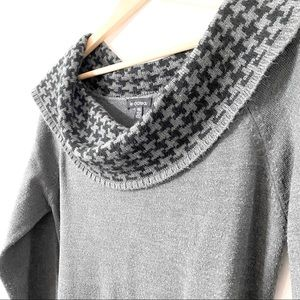 Le Chateau Belted Sweater